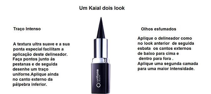 Um delineador de olhos Kajal