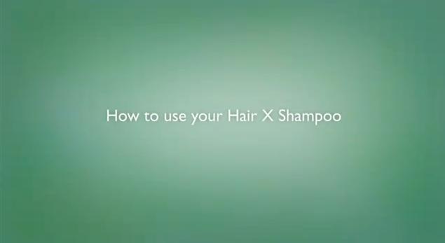 Como usar o champô Hair X