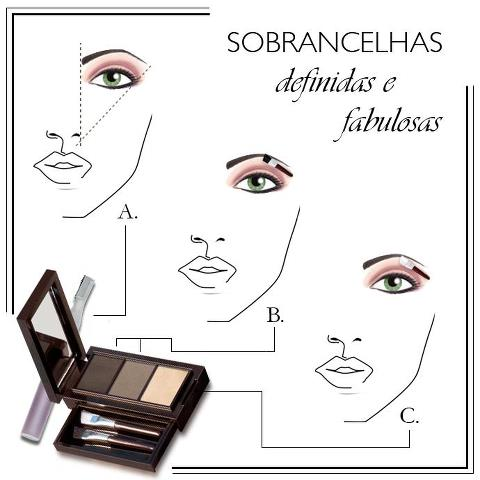 Kit para Sobrancelhas Oriflame Beauty