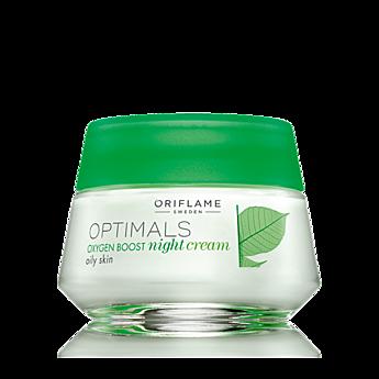25199 Creme de Noite Optimals Oxygen Boost para Pele Oleosa