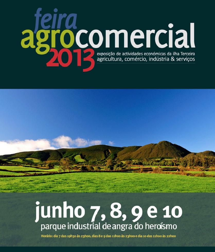 Feira Agro Comercial 2013 Oriflame Açores
