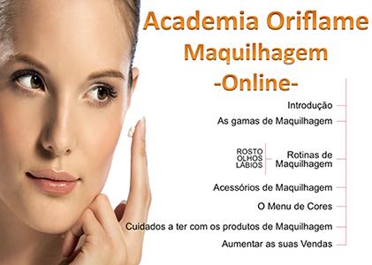 Maquilhagem Oriflame - Academia