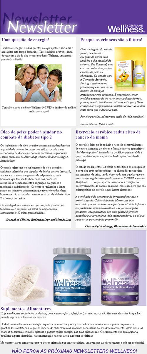 Notícias Wellness by Oriflame