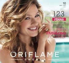 Lançamento do Catálogo Oriflame 10