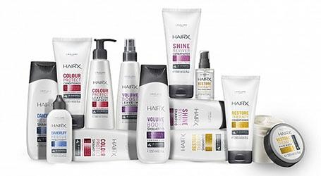 hair x range