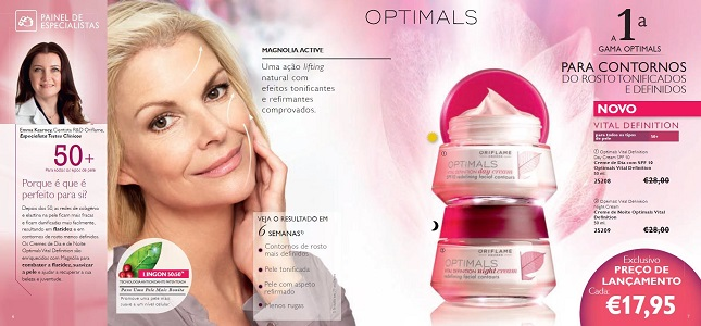 Creme de Noite Optimals Vital Definition
