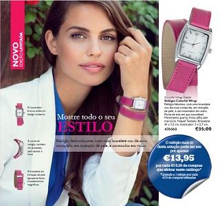 Relógio Colorful Wrap