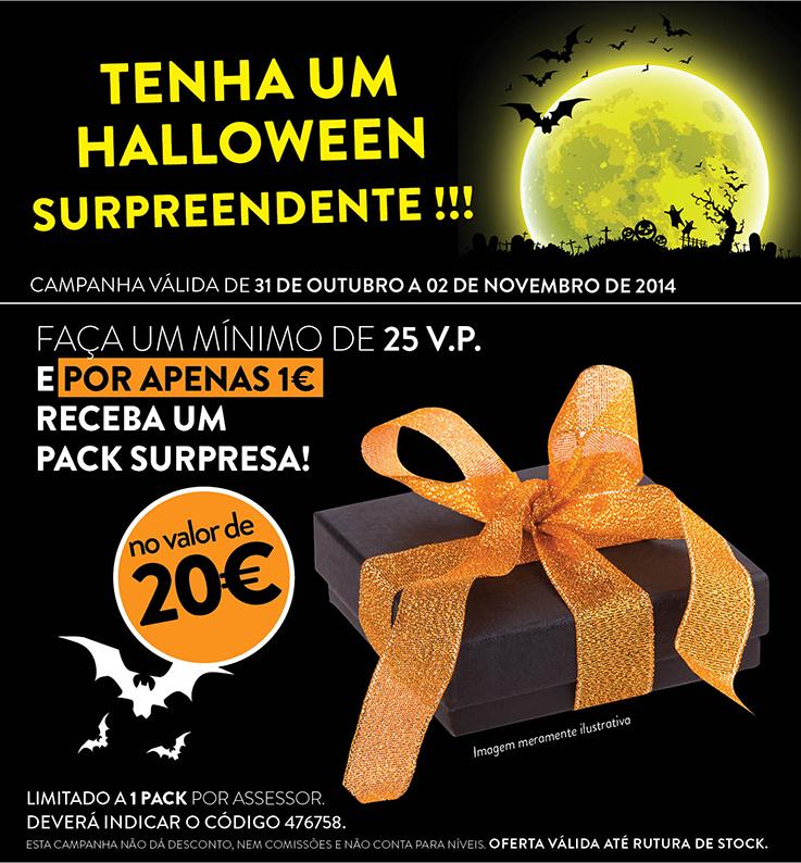 Campanha Halloween Oriflame