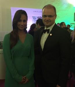 Rita Pereira e Renato Carvalho