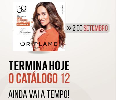 Catálogo Oriflame 12 Termina Hoje, 4.ª Feira às 22h!