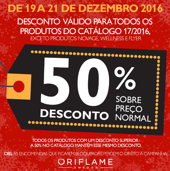 50% Desconto!!!