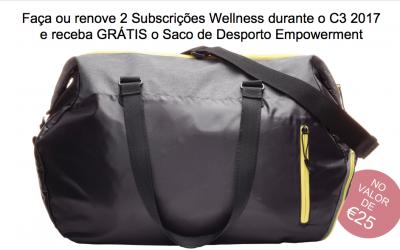 Ganhe ainda mais com a sua subscrição Wellness!
