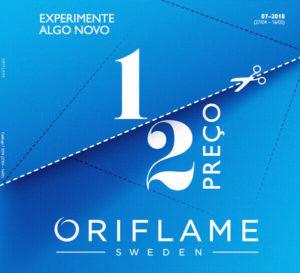 Catálogo 7 Oriflame 2018, sonhar.pt