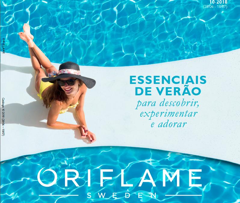 Catálogo Oriflame 10 2018: Essenciais De Verão Para Descobrir, Experimentar E Adorar